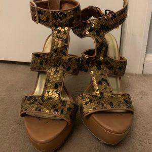 Sparkle heels!